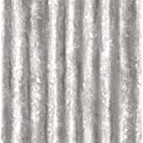 A-Street Prints 2701-22336 Corrugated Metal Silver Industrial Texture