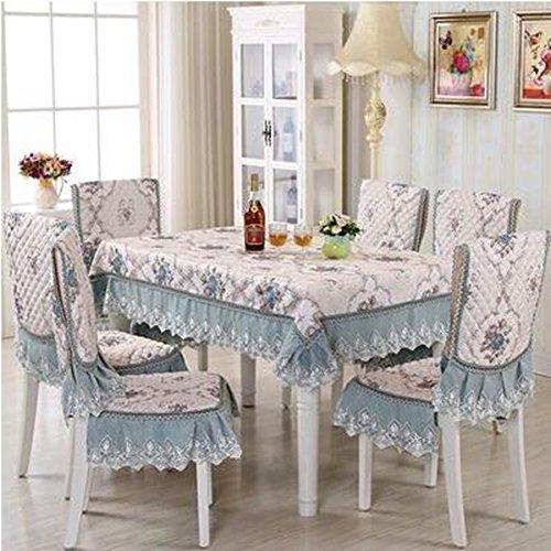 Europ che hochwertigem Stoff, Sitzkissen, Tischkissen, Sitzbezug-Sets,15020cm   Romantic House Blau
