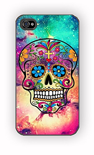 Sugar Skull Colorful for iPhone 4/4S Case