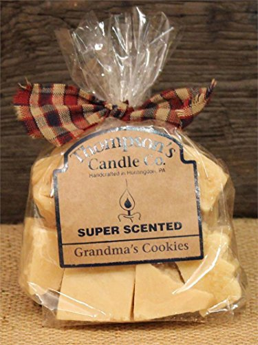 Thompson's Candle Co Super Scented Grandma's Cookies Crumbles