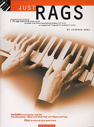 Just Rags: Progressive Piano Solos Grades III - V. Partituras ...