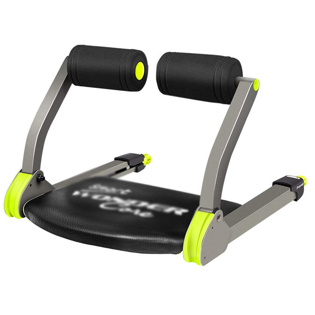 緑色の腹部の筋肉の腹筋補助的な多機能仰向けのボードの運動フィットネス器具の家の腹部折りたたみ収縮、ミニセーブスペース (Color : Green, Size : 52 * 55 * 38cm) B07GWG7KCN  Green 52*55*38cm