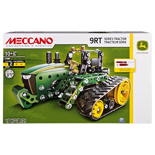 Meccano-Erector - John Deere 9RT Series Tractor Building Set