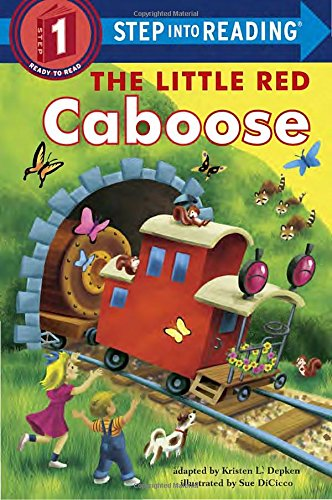 The Little Red Caboose (Step into Reading)