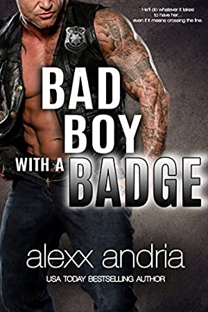book cover of Bad Boy With A Badge