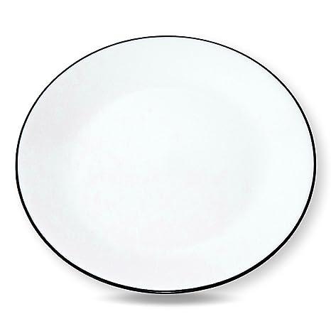 Corelle Livingware Brilliant Black 10.25 Dinner Plates - Set of 4 (10.25)  sc 1 st  Amazon.com & Amazon.com | Corelle Livingware Brilliant Black 10.25 Dinner Plates ...