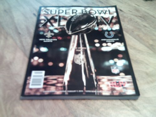 super bowl 44 game program - 1