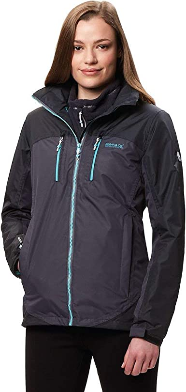 Regatta Womens Imber Ii Waterproof and Breathable Hooded Active Hiking Shell Jacket