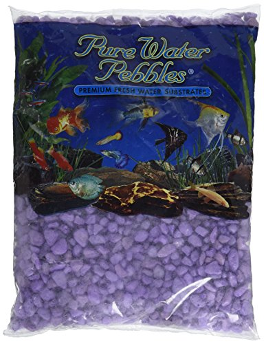 Purple Gravel - Worldwide Imports AWW70435 Frosted Gravel, 5-Pound, Purple Frost