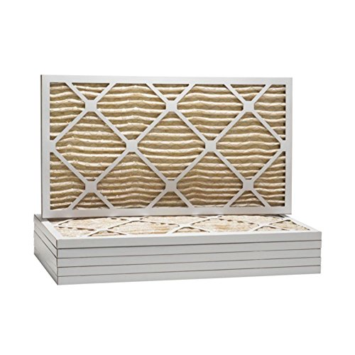 "ComfortUp WP15S.010834 - 8"" x 34"" x 1 MERV 11 Pleated Air Filter - 6 pack"