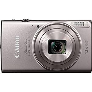 Canon PowerShot ELPH 360 HS with 12x Optical Zoom and Built-In Wi-Fi with Deluxe Accessory Bundle and Cleaning Tools from Canon