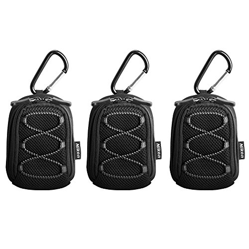 3 Pack of Nikon All Weather Sport Case with Carabiner (13080)