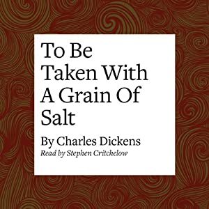 To Be Taken with a Grain of Salt Audiobook