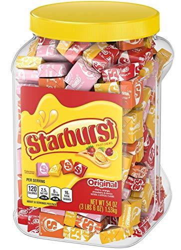 - Starburst Original Fruit Chews Candy Jar (54 oz.).