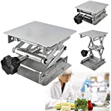 Drillpro 4x4'' Scientific Lab Jack Aluminum Lab Lifting Platform Stand Rack Scissor Lab-Lift Lifter