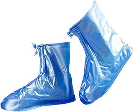 Kentop Surchaussures Imperm/éables Anti-Glisse Couvre-Chaussures pour Jours Pluvieux et Neigeux D/ésherbage Escalade Activit/és de Plein Air P/êche Pelleter la Neige Ski