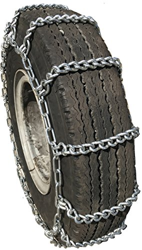 TireChain.com 295/75R22.5, 295/75 22.5 Extra Heavy Duty Mud Tire Chains Set of 2