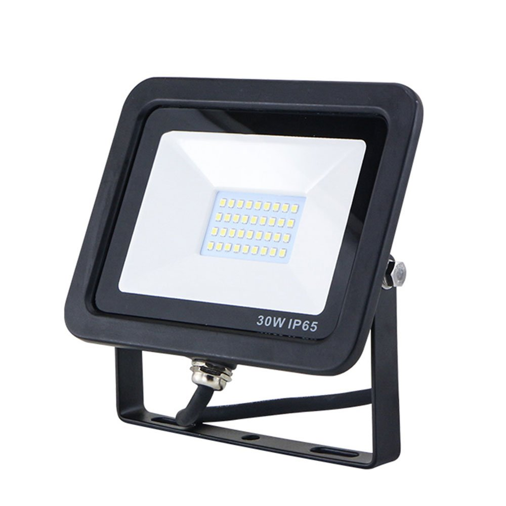30w Daylight Led Floodlight Outdoor Security Lighting -Waterproof IP65, 2700LM 5000k White,Super Bright Spot Light Fit4Less