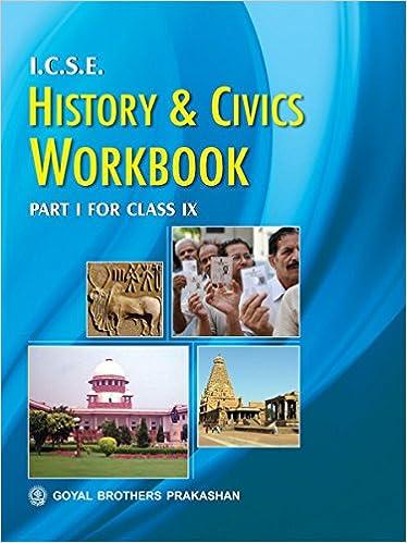 amazon in buy icse history civics workbook part 1 for class ix