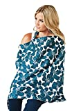 Udder Covers Breast Feeding Nursing Cover Kai, Blue
