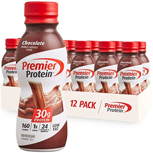 Premier Protein Shake 30g 1g Sugar 24 Vitamins Minerals Nutrients to Support Immune Health 11.5 Pack, Chocolate, 138 Fl…
