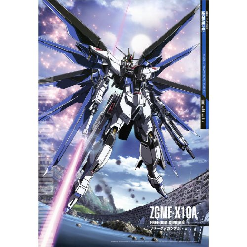 Gundam Seed Poster by Silk Printing # Size about (60cm x 87cm, 24inch x 35inch) # Unique Gift # 4E1F38