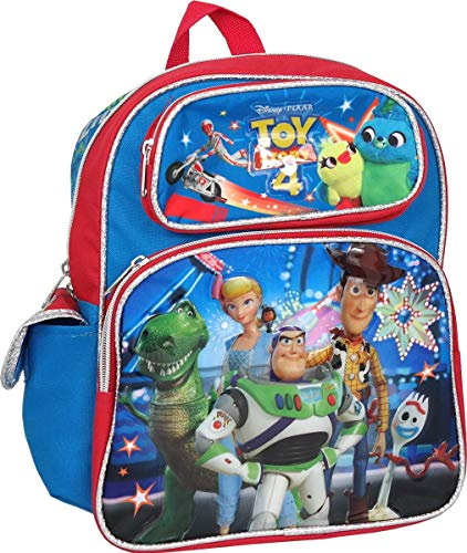 Toy Story 4 Woody Buzz Rex Forky 12 inches Toddler Backpack