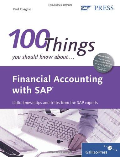 Financial Accounting SAP