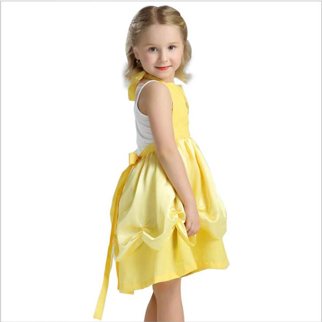 Amazon.com: HÖTER Girls Princess Dress/Apron Halloween Costume Party Fancy  Dress: Clothing