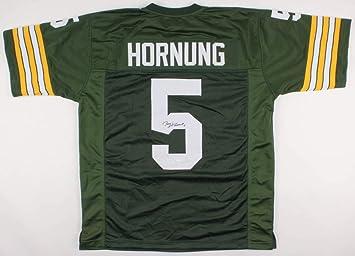 Paul Hornung Green Bay Packers Signed Autograph Jersey JSA COA