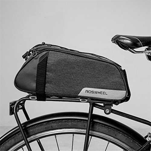 Cheapest Prices! AUSTY 35L Multifunctional Bicycle Rear Seat Bag Outdoor Cycling Bike Rack Seat Bag ...