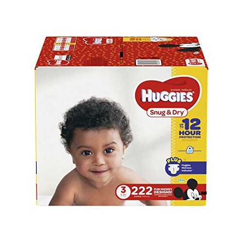 HUGGIES Snug & Dry Diapers,...