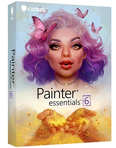 Corel Painter Essentials 6 Digital Art Suite [PC/Mac - Graphics Software