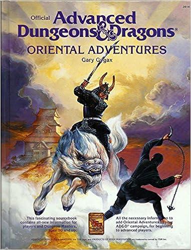 Oriental Adventures: Adventures Dungeons and Dragons ...