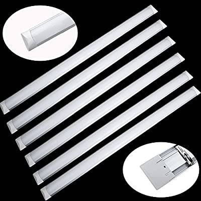 Excellent LED Batten Linear Tube Lights,6000-6500k,Day white,2er pack