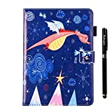 inShang iPad iPad air/iPad 5 case Color Painting cover for iPad iPad air (2013) Multi-function stand case+1pc business stylus Pen