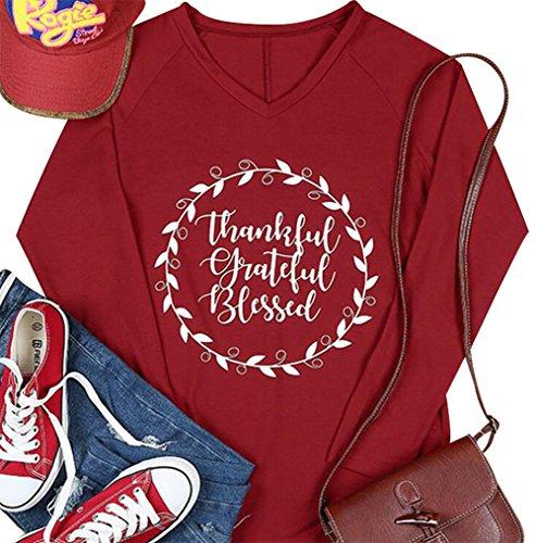 Thankful Grateful Blessed Women's Shirt