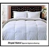 Royal Hotel's Full / Queen Size Down-Alternative Comforter - Duvet Insert, 300-Thread-Count 100% Down Alternative Fill