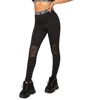 Clacce - Mallas de Deporte para Mujer, Pantalones de Yoga ...