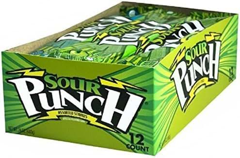 Gummy Candies: Sour Punch Straws