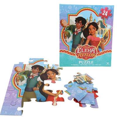 2 Pk. Disney Princess Elena of Avalor 24pc Puzzle