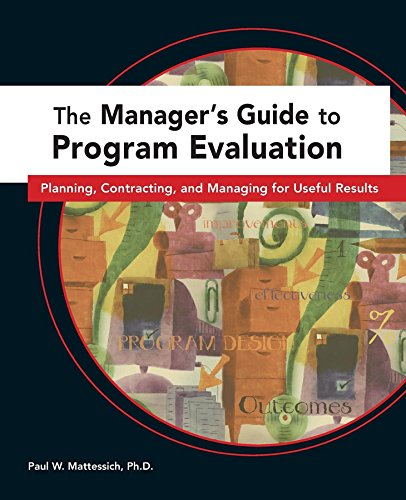 Managers Guide to Program Evaluation: Planning, Contracting, & Managing for Useful Results