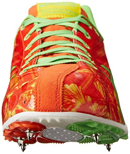 ASICS Men's Gunlap Track and Field Shoe Red Floral/Flash Green prices for sale outlet extremely discount recommend BUCe2keq