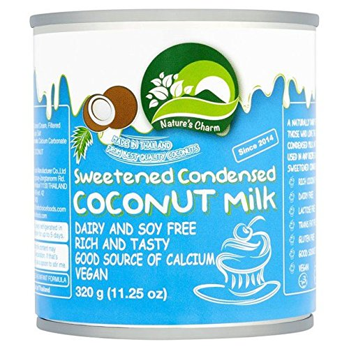 Nature's Charm Sweetened Condensed Coconut Milk - 320g (0.71lbs)