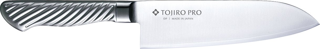 Tojiro-PRO high-grade stainless steel Santoku Chef Knife 170mm F-895