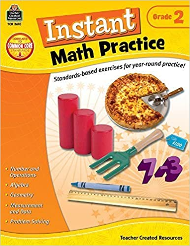Instant Math Practice, Grade 2 by Teacher Created Resources Staff (2013-04-10)