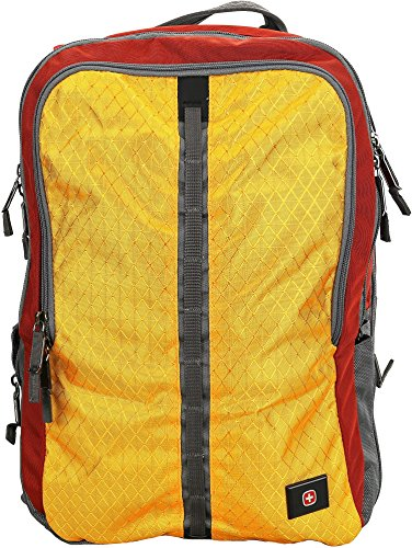 SwissGear Edge Backpack with Laptop Compartment Red