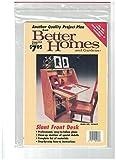 Slant Front Desk Pattern - Plan No. 50447