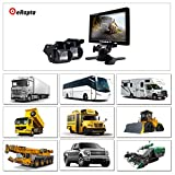 eRapta-ER02-Wired-7-Inch-Waterproof-backup-Camera-and-Monitor-Kits-For-Semi-TrailerBox-TruckRVMotorcoach5th-WheelTrailer-PAL-and-NTSC-IR-LED-Rearview-Camera-Use-When-Reversing-to-See-the-Backup