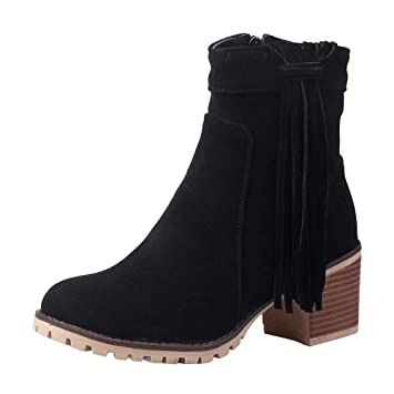 Botas Bohemias con Cremallera y Cremallera Descalzos Botas Martin Botines Zapatos LILICAT® cNational Botines con